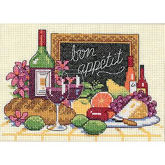 Bon Appetit Mini Counted Cross Stitch Kit 7