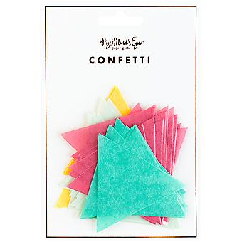 Hooray Double-Sided Confetti 100/Pkg-  HRP207