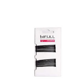 Bifull Plano Clip Black 51 Mm 18 Units