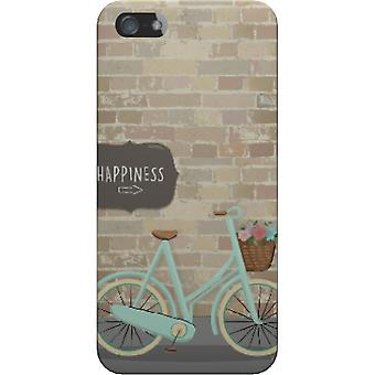 Cover Happiness and bicycle for iPhone 5S/SE