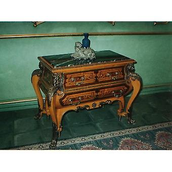 Baroque Rococo chest of drawers antique historicism style MoAl0029