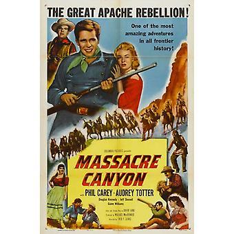 Massacre Canyon Movie Poster (11 x 17)