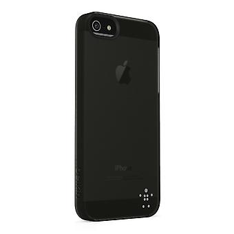 Belkin F8W162VFC00 shield sheer acrylic cover case for iPhone 5 / 5s - transparent black