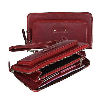 Dr Waxi Amsterdam Clutch Red