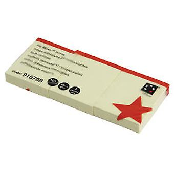 5Star Notes Repositionable Yellow 50x40mm (Home , Office , Accessories)