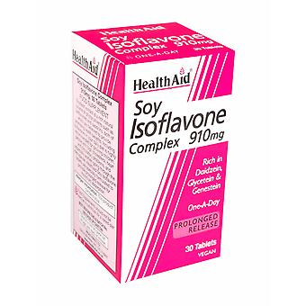 Health Aid Soya Isoflavone Complex 910mg ,  30 Tablets