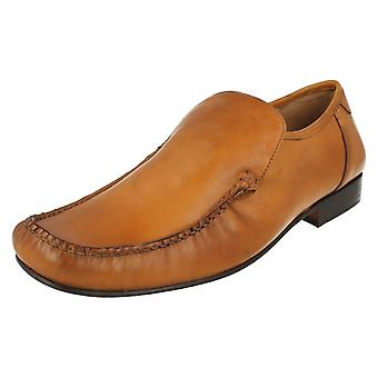 Mens Grenson Slip On Moccasin Shoes Sienna