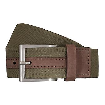 SAKLANI & FRIESE belts men's belts woven belt green 5429