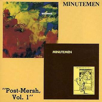 Minutemen - Post-alpers No. 1 [CD] USA importerer