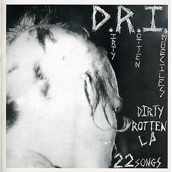 D.R.I. - Dirty Rotten LP på CD [CD] USA importerer