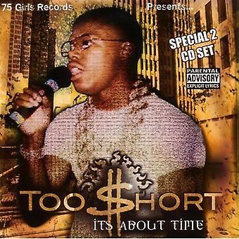 För kort - det handlar om tid [CD] USA import