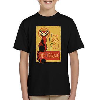 Les Furets de Feu legende af Korra børne T-Shirt