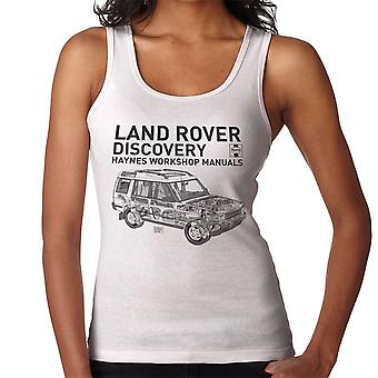 Haynes Workshop Manual 3016 Land Rover Discovery schwarz Damen Weste