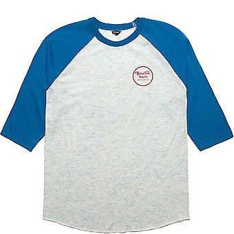 Brixton Wheeler 3/4 Sleeve Baseball T-Shirt Royal