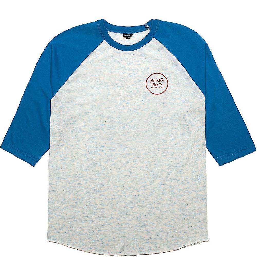Brixton Wheeler T-Shirt Royal