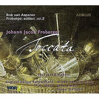 Froberger, J. / Møller, Wouter / Pietsch, Thomas - Johann Jacob Froberger: Toccata [CD] USA import