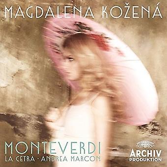 Kozena/Marcon/La Cet - Monteverdi [CD] USA import
