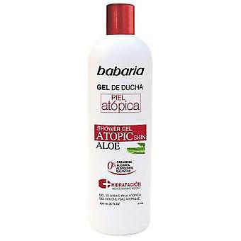 Babaria Shower Gel With Aloe Vera For Atopic Skin 600 ml