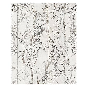 Materials Wallpaper Marble White No Joints by Piet Hein Eek