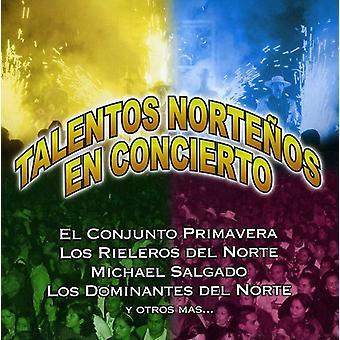 Talentos Nortenos - Rieleros Primavera Y Otros [CD] USA import