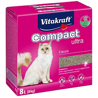 Vitakraft Sand Ultra Clumping Litter For Cats, 8Kg