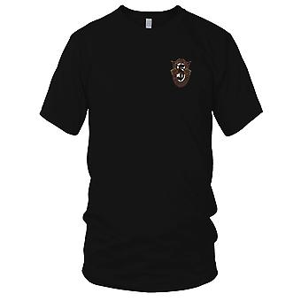 US Army - 5th Special Forces Group Crest OD grün gestickt Patch - Herren-T-Shirt