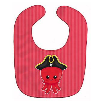 Carolines Treasures  BB8912BIB Nautical Pirate Octopus Baby Bib