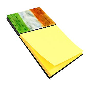 Carolines Treasures  BB5753SN Irish Flag on Wood Sticky Note Holder