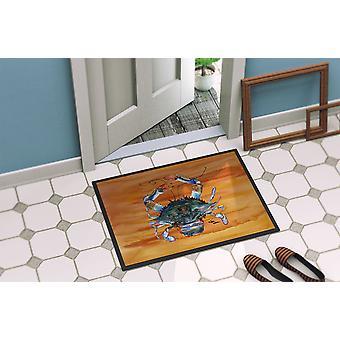 Carolines Treasures  8144-MAT Crab  Indoor or Outdoor Mat 18x27 8144 Doormat