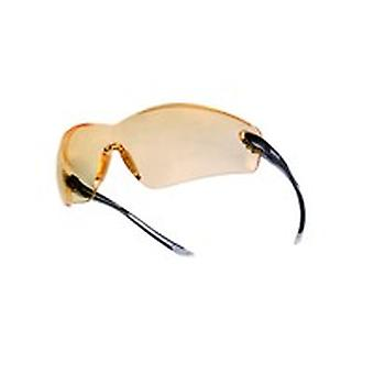 Bolle COBPSJ Cobra Spectacles (Yellow) Anti-Scratch & Fog Lens