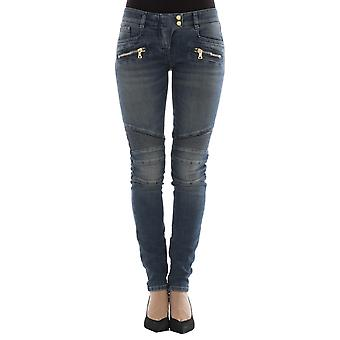 Balmain women's 995998264NC3180 blue cotton of jeans