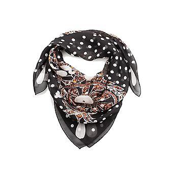 Lenço de seda padrão de joias Givenchy feminino