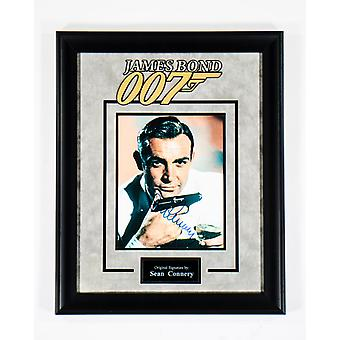 James Bond 007 - Signed by Sean Connery - Framed Artist Series