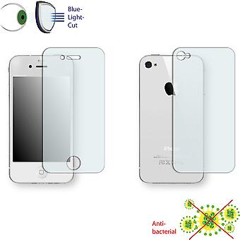 Apple iPhone 4 front + back screen protector - Disagu ClearScreen protector (1 front / 1 rear)