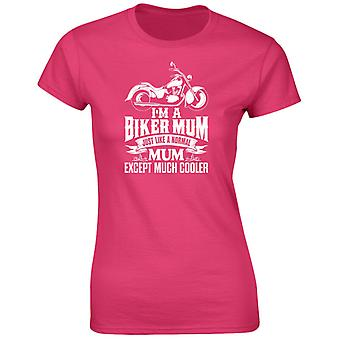 I'm A Biker Mum Except Much Cooler Womens T-Shirt 8 Colours (8-20) by swagwear