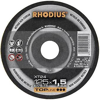 High speed friction disk XT24 Rhodius 205910 Diameter 115 mm