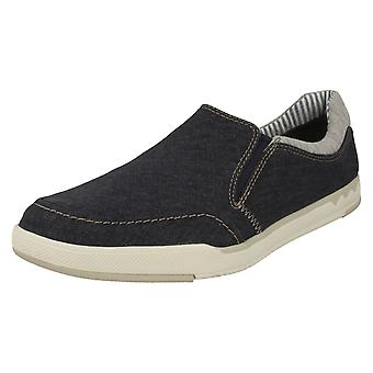 Mens Clarks Casual Slip On Shoes Step Isle Slip