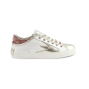 Crime London women's 25303KS110 White leather of sneakers