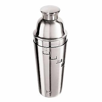 Stainless Steel Dial-A-Drink Cocktail Shaker