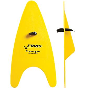 FINIS Freestyler Hand Paddles - Senior - Yellow