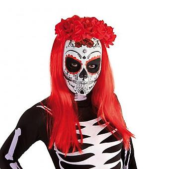 Rubie's Katrina Skull Mask Dead Roses Day (Babies and Children , Costumes)