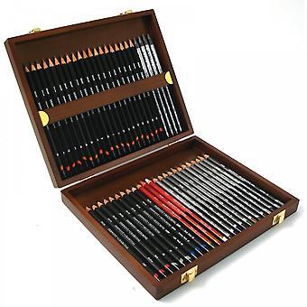 Derwent Derwent Sketching 48 Wooden Box