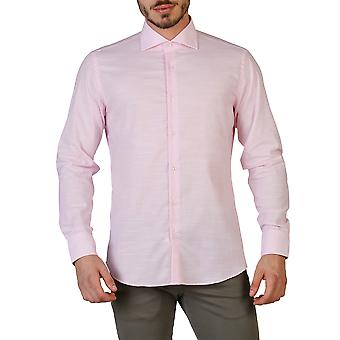 Trussardi Men Shirts Pink