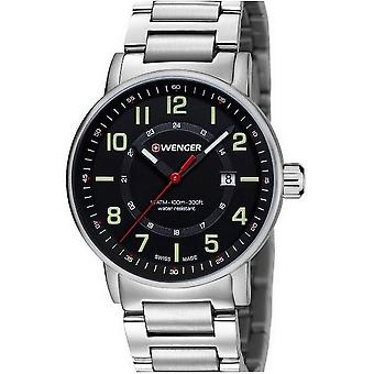 Wenger mens watch attitude outdoor 01.0341.113