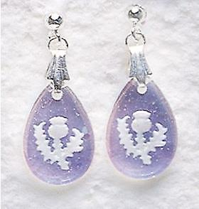 Aurora Borealis Teardrop Earrings and Small Pendant set