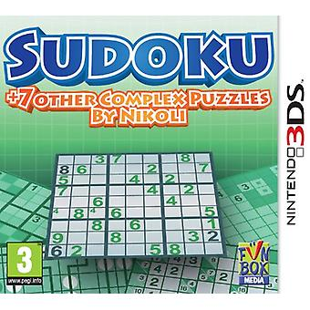 Sudoku  7 other Complex Puzzles by Nikoli (3DS)