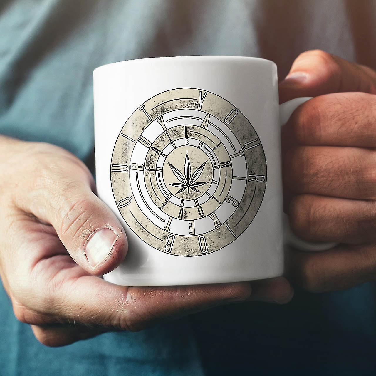 Inspirational Weed Rasta NEW White Tea Coffee Ceramic Mug 11 oz   Wellcoda