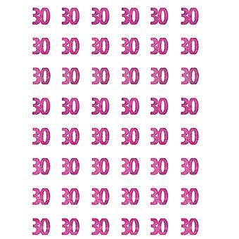 Anniversaire Glitz Pink - 30e anniversaire prisme suspendus décoration