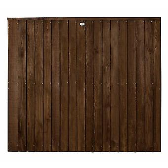 Forest Garden 5ft Pressure Treated Chestnut Brown Contractor Panel