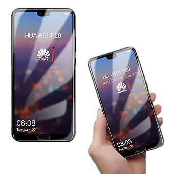 4 d premium 0.3 mm H9 hard glass transparent foil for Huawei P20 per cover new